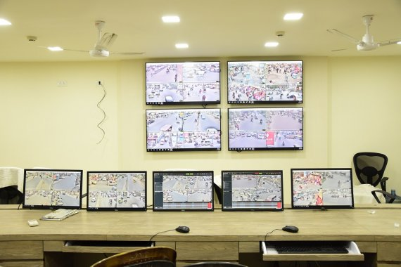 City Surveillance CCTV system at Siliguri Police Commissionerate4