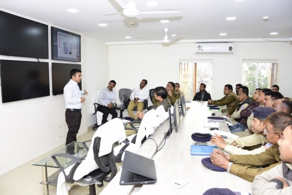 Functional training on CCTV surveillance system